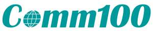 Comm100-logo